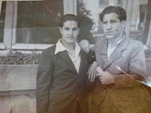 Paulino, boxeador campo nazi de joven, años 40 foto 2