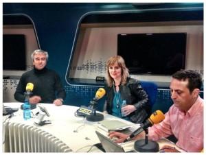 Montserrat Llor en La Ventana, cadena SER, con Carles Francino
