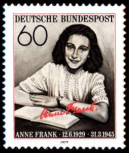 Foto Ana Frank sello alemán